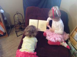 Children Reading to Each Other